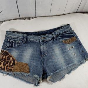 Ralph Lauren Denim & Supply distressed shorts
